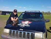 Devin McArthur is aiming to be a professional monster truck driver.