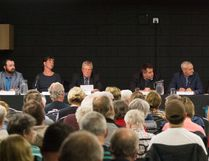 The All Candidates Forum was held at the Hinton Legion on Sept. 25. (John Hopkins-Hill/ Hinton Parklander)