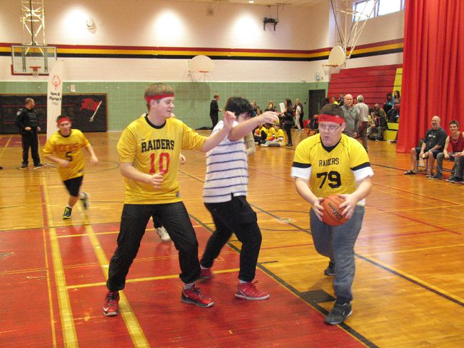 Volunteers are needed locally to host more events like this Special Olympics Ontario provincial basketball qualifier tournament, held at CCVS in 2016.  Cornwall Standard-Freeholder/Postmedia Network