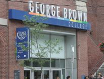 George Brown College on King St. E. in Toronto (THE CANADIAN PRESS/Colin Perkel)