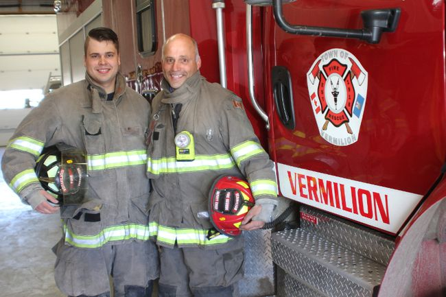 """There is no easy call. It's a small town and we know everyone being born and raised here. When you are out there doing your job – it's like flipping a switch, you don't have time to think you just do what you are trained to do,"" said Derek."