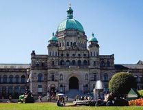 An exterior view of the British Columbia Legislature is shown in Victoria, B.C., on August 26, 2011. (Darryl Dyck/The Canadian Press)