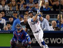 Chris Taylor of the Los Angeles Dodgers