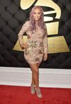 Kaya Jones attends The 59th GRAMMY Awards at STAPLES Center on February 12, 2017 in Los Angeles, California. (Photo by Alberto E. Rodriguez/Getty Images for NARAS)