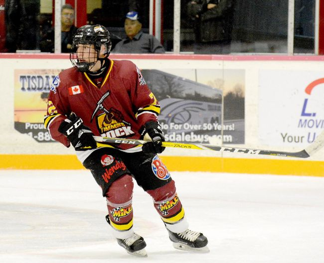 Timmins Rock have traded defenceman Lucas Dolanjski to the Elliot Lake Wildcats, one of three transactions announced by the NOJHL team last week.