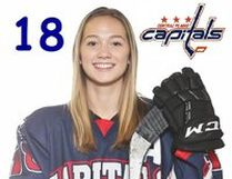 Central Plains Caps defender Chloe Snaith was named the MFMHL's Player of the Week for her strong play over the weekend. (Supplied photo)