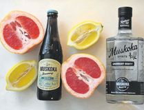 Muskoka offers a beertail recipe which combines both its beer and its botanical-distilled gin. It calls for 175 ml of Detour Session IPA, 60 ml of Legendary Oddity gin and 30 ml each of grapefruit syrup and lemon juice. (Wayne Newton/Special to Postmedia News)
