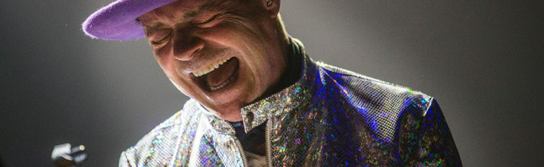 Gord Downie of The Tragically Hip performs in Toronto last August. The Hip frontman died on Tuesday night.