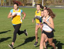 And they're off, in the midget girls division race.. Todd Hambleton/Cornwall Standard-Freeholder