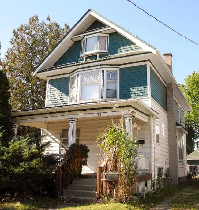 This property at 130 Colborne St. S. in Simcoe is  on the block in Norfolk County's latest sale for tax arrears. Fourteen properties are in play, with Nov. 9 being the deadline for filing bids. MONTE SONNENBERG / SIMCOE REFORMER