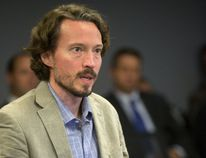 Dr. Christopher Mackie, Middlesex-London Health Unit chief medical officer of health, told London Police Services Board members Thursday that public meetings will be held soon on proposed supervised injection sites in the city. (MIKE HENSEN, The London Free Press)