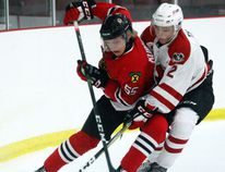 Joey Kubachka has made himself at home quickly on the Brockville Braves depth chart as he's already found himself on the power play unit in less than a month of being with the team. (Jonathon Brodie/The Recorder and Times)