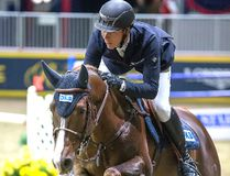 Germany's David Will broke up the Irish domination by winning the $35,000 International Accumulator while riding Cento du Rouet during the 2016 edition of the Royal Agricultural Winter Fair in Toronto. This year's edition will be held from Nov. 3 to 12. (Handout)