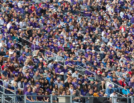 Thousands watch the football game between the Western Mustangs and Ottawa Gee Gees at TD Stadium in London, Ont. on Saturday October 21, 2017. The Mustangs won the game 63-10.Derek Ruttan/The London Free Press/Postmedia Network