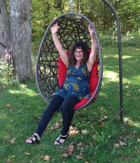 Holistic energy practitioner Patty Oser is from Manitoulin Island.