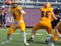 Queen's Golden Gaels quarterback Nate Hobbs. (Whig-Standard file photo)