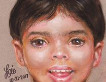 This artist rendering provided by the Galveston Police Department shows a depiction of a boy that police are asking for the public's help to identify. (The Galveston Police Department via AP)