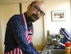 Sinclair Shuit, a London optometrist by day, is a contestant on the Great Canadian Baking Show. (MIKE HENSEN, The London Free Press)