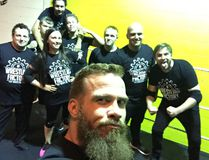 Tyson Moody, a.k.a. Tyson Dux, has opened his own professional wrestling school in London. (Supplied photo)