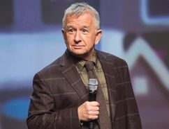 Ron James will perform in Winkler at 7:30 p.m. on Nov. 19.