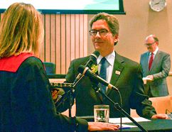On Oct. 24 at Strathcona County council chambers, Rod Frank took the oath of office and officially became Strathcona County's mayor for 2017-2021.