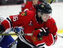 Adam Van Ettinger isamong the 10 players that have moved on from last year's Brockville Tikis team and now play Canadian Jr. A hockey or in the USPHL. (File photo)