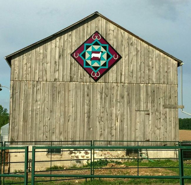 The first Barn Quilt Tour is set to leave Clinton tomorrow morning. Due to the interest of the community a second tour has been added for Thursday, November 16. (Photo courtesy of HC Proud)