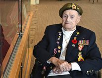ED KAISER, Postmedia Network - Second World War veteran Jack Owen turned 100 earlier this year. With Remembrance Day and war stories on the minds of many Kipnes Centre veterans this week, Owen preferred to talk about hunting and fishing.