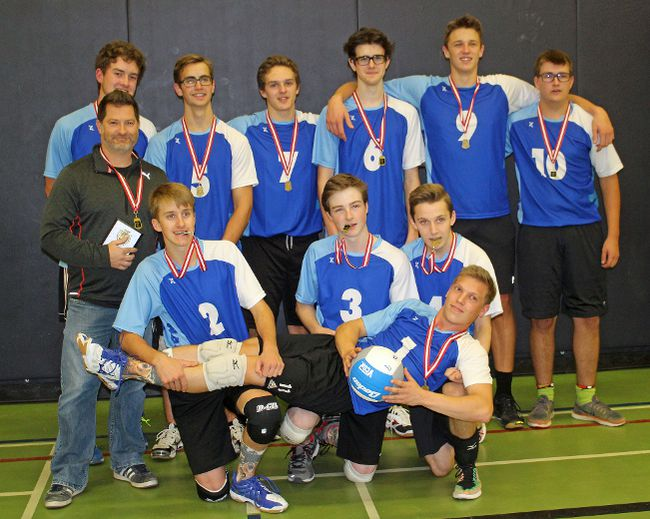 The Tagwi Warriors are SD&G senior boys A volleyball champions, going undefeated in the regular season and playoffs. Kevin Gould/Cornwall Standard-Freeholder