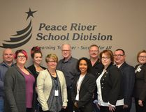 Photo Submitted PRSD Board of Trustees gather for a photo. Back row: Christopher Schneider, Delainah Velichka, Fred Churchman, Darren Kuester, Paul Bennett, Karen Penney. Front row: Crystal Owens, Lori Leitch, Robyn Robertson, Rhonda Freeman