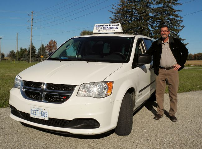 A taxi service has arrived in Norfolk specializing in the transportation needs of individuals with mobility issues. Guardian Transit is based in Waterford and is owned by Wayne Columbus. MONTE SONNENBERG / SIMCOE REFORMER