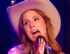 Megan Schroder has been singing Patsy Cline songs since her parents gave her a Cline karaoke tape when she was a little girl. (MIKE HENSEN/The London Free Press)