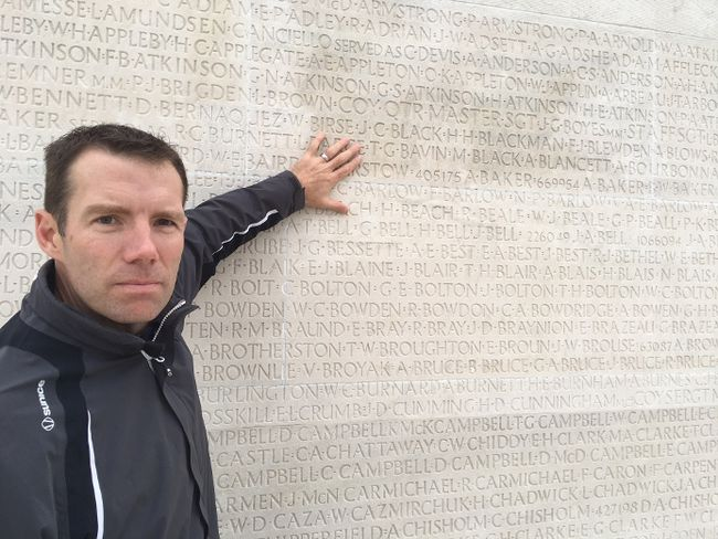 John Barlow, Foothills MP, visited Vimy Ridge Memorial in northern France earlier this year. Submitted photo