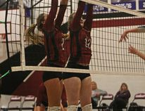 The Cochrane High School Cobras senior girls' volleyball team defeated Springbank High School 3-0 in the Rocky View Sports Association semi-finals on Nov. 6 to advance to the league finals.