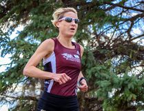 Roxanne Skoreyko will be competing at the U Sports national cross-country championship in Victoria this weekend. Photo supplied, Robert Antoniuk.