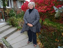 Cheryl Miller, shown at her south London home, may have long retired from city council but she remains active — and sought-after — in civic circles. (MORRIS LAMONT, The London Free Press)