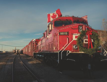The Canadian Pacific Holiday Train is scheduled to stop in Vulcan on Dec. 10. Canadian Pacific photo.