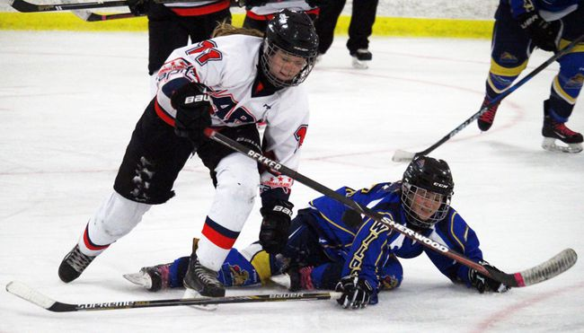 The female midget Capitals lost back to back games to the Winnipeg Avros over the weekend to fall to 4-4 on the year. (File Photo/The Graphic)