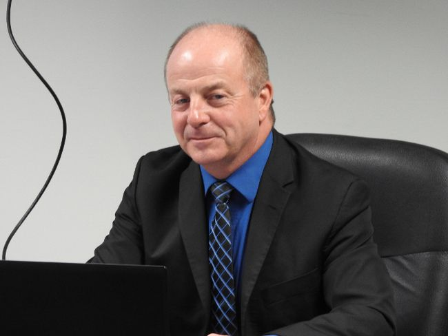 CAO Ray Morrison says the tax hike will be less than projected. (WAYNE LOWRIE/The Recorder and Times)