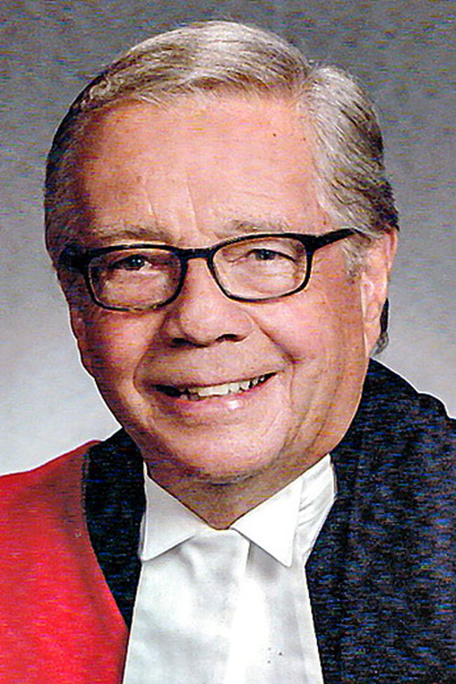 Retired judge James Kent (Submitted Photo)