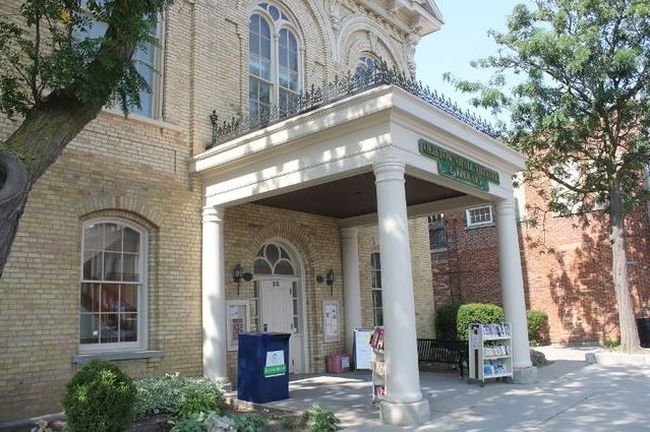 The John Street location was chosen as the most favourable spot for the new Aylmer library, according to online survey results. John Street was chosen over Myrtle Street. (File photo)