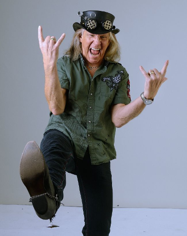 """London rock legend Brian Vollmer says his new solo album, Get Yer Hands Dirty, is """"one of the best things I've ever done in my life.""""  (MORRIS LAMONT/The London Free Press)"""