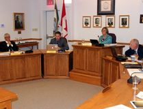 Sean Chase/Daily Observer Deep River council discusses their response to a letter from the Ontario Fire Marshal's Office during their regular session on Nov. 15.