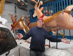 "KEVIN RUSHWORTH HIGH RIVER TIMES/POSTMEDIA NETWORK. Ted Dawson, the organizer of the Santa Claus Parade, has received great assistance from service club volunteers ahead of the 31st annual parade. The event itself is themed ""Celebrating 150 Years of Canadian Christmas."""