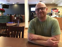 James McInnes, who co-owns Globally Local at 252 Dundas St., says London's restaurants are offering a growing list of vegan options. (Pat Maloney, The London Free Press)