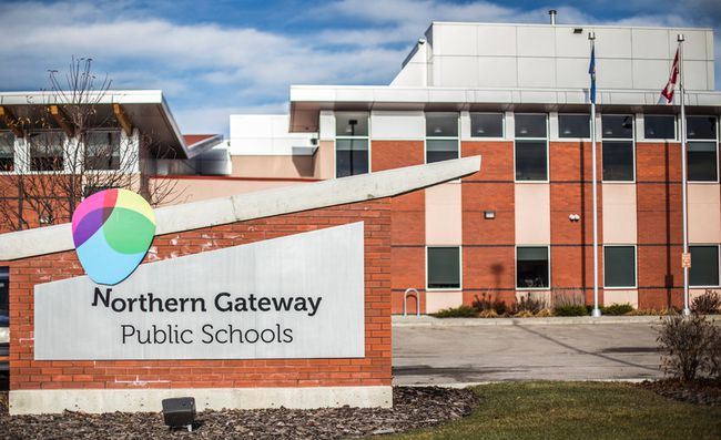 A results report claims that Northern Gateways Public Schools could improve on diploma exam participation and its transition rate (File Photo).