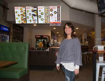 Cathy Doherty is the owner of the new Wokbox on Richmond Row in London, Ont. on Monday November 20, 2017. Derek Ruttan/The London Free Press/Postmedia Network