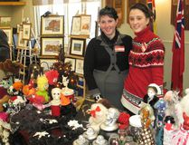 <p>Sherrie Engelhart (left) and her daughter Serenity Engelhart at their Dark Realm Boutique display, at the 41st edition of the Morrisburg and District Arts and Crafts Association Christmas Craft Show on Sunday, November 19, 2017, in Morrisburg, Ont.</p><p> Todd Hambleton/Cornwall Standard-Freeholder/Postmedia Network