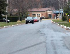 <p>Residents wish Charles Street was this empty when classes begin and end at St. Anne Catholic School. The traffic is so heavy and dangerous they are asking the city for a sidewalk. Photo taken on Tuesday November 14, 2017 in Cornwall, Ont. </p><p> Alan S. Hale/Cornwall Standard-Freeholder/Postmedia Network