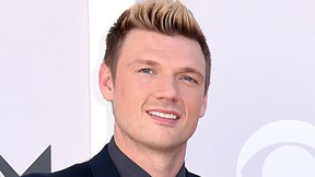 """In this April 2, 2017 photo, Nick Carter of the Backstreet Boys arrive at the 52nd annual Academy of Country Music Awards in Las Vegas. Carter says he's """"shocked and saddened"""" by accusations made by a singer who said he raped her about 15 years ago. Melissa Schuman of the girl group Dream wrote in a blog post that she was """"forced to engage in an act against my will."""" She said the Backstreet Boy took her virginity. (Photo by Jordan Strauss/Invision/AP, File)"""